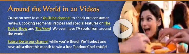 Tandoor Chef Videos